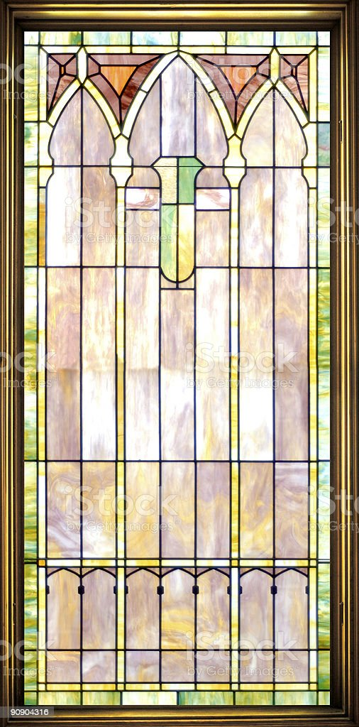 stain glass royalty-free stock photo