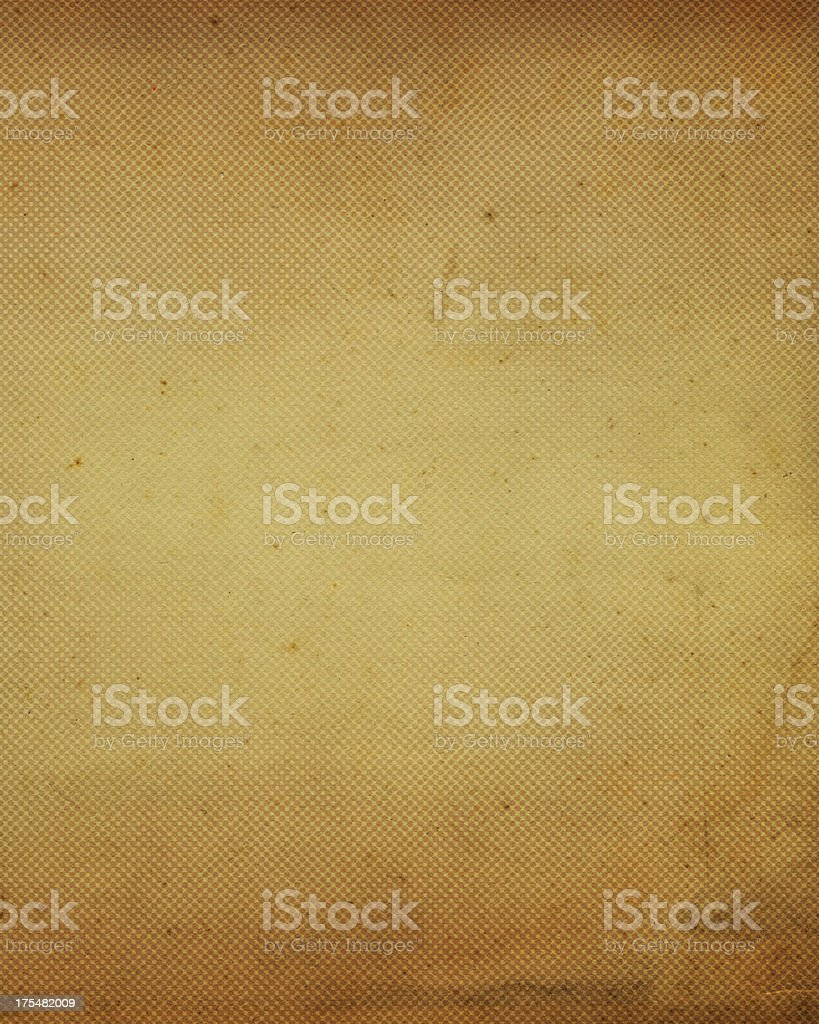 stained antique paper with halftone royalty-free stock photo