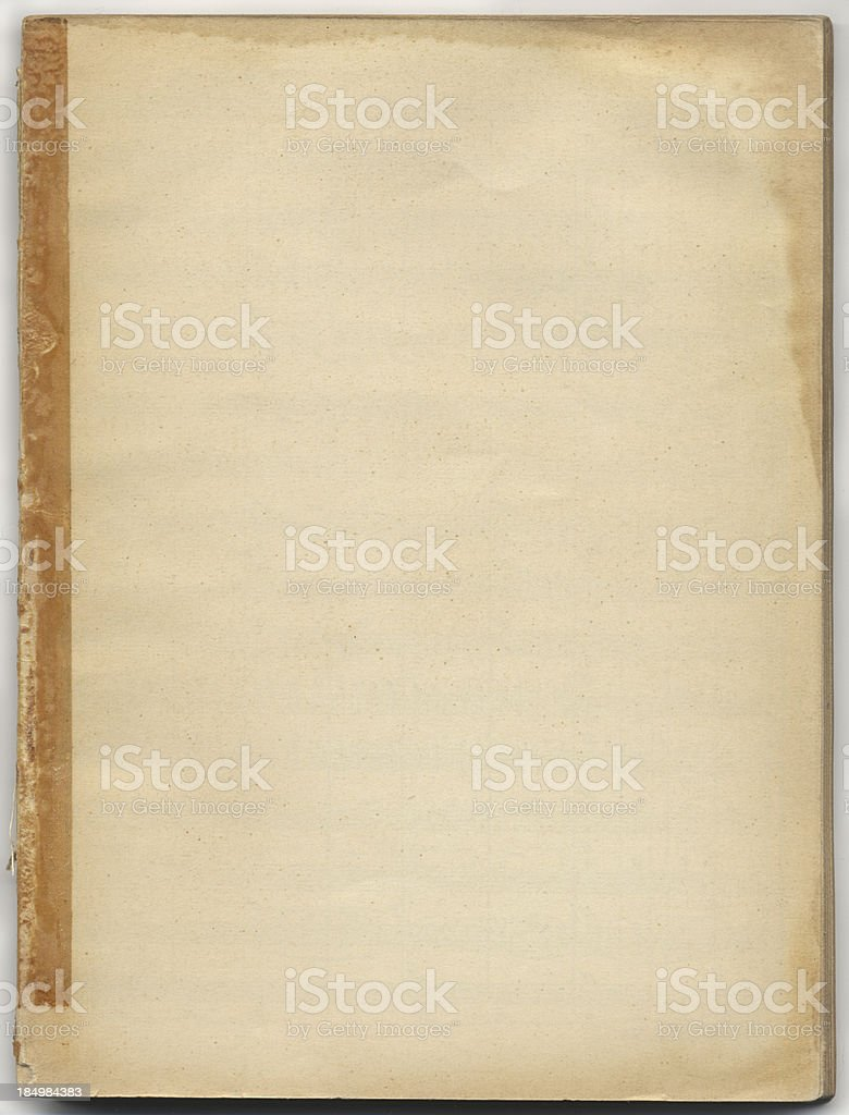 Stained Book Cover royalty-free stock photo