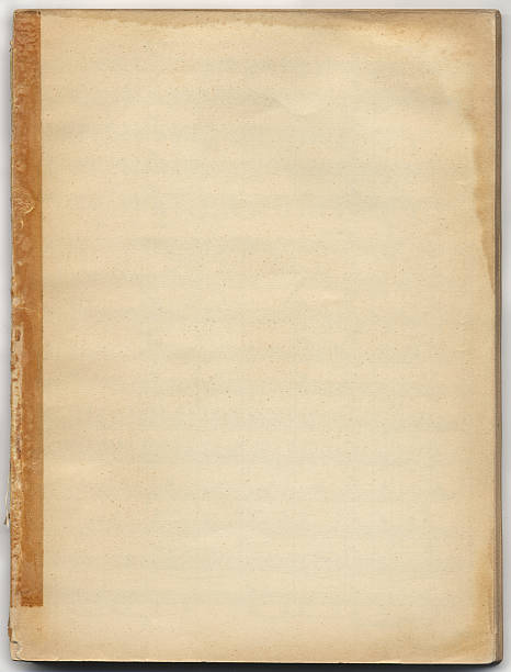 Stained Book Cover stock photo