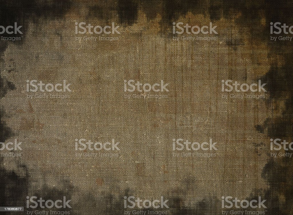 Stained canvas royalty-free stock photo