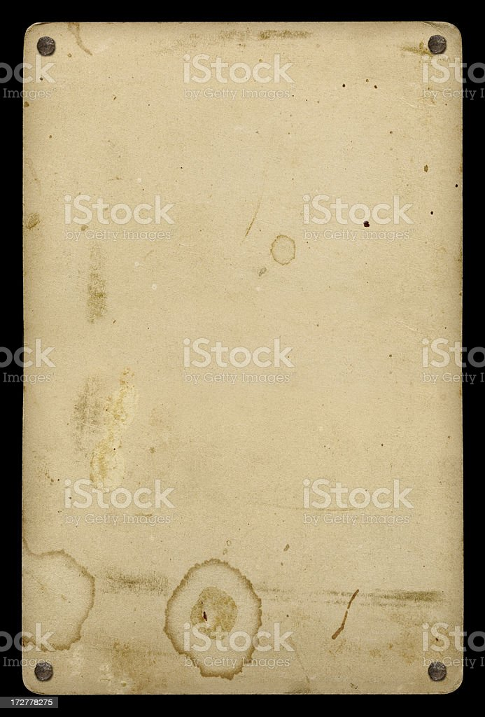 Stained cardboard background royalty-free stock photo
