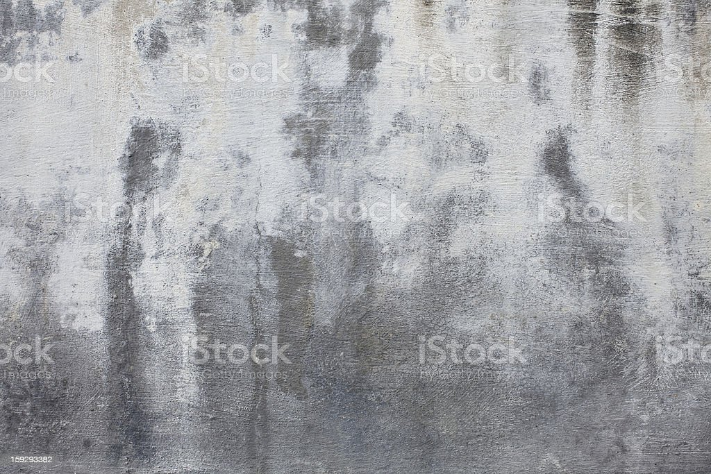 XXXL Stained Concrete Wall Texture royalty-free stock photo