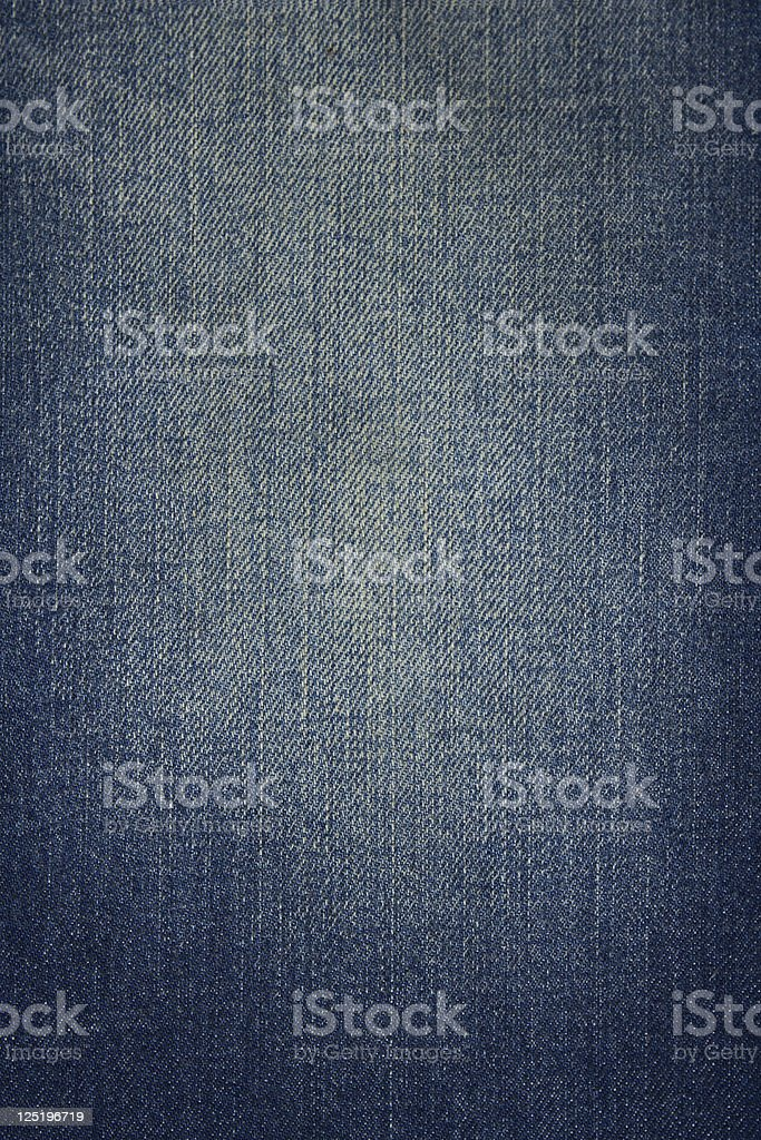 Stained denim fabric stock photo
