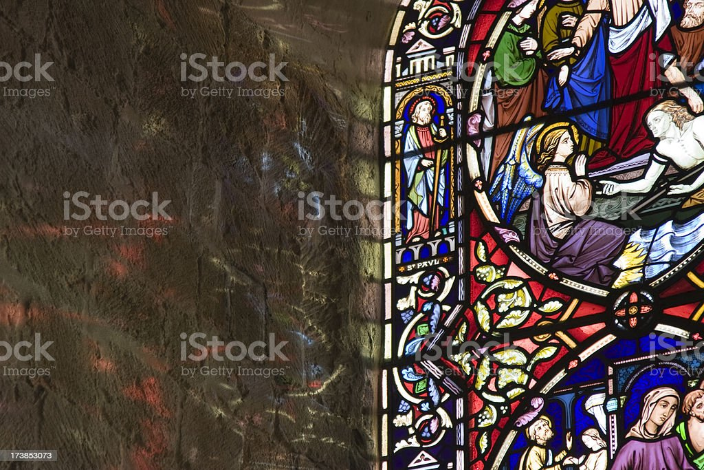 Stained Glass Abstract royalty-free stock photo