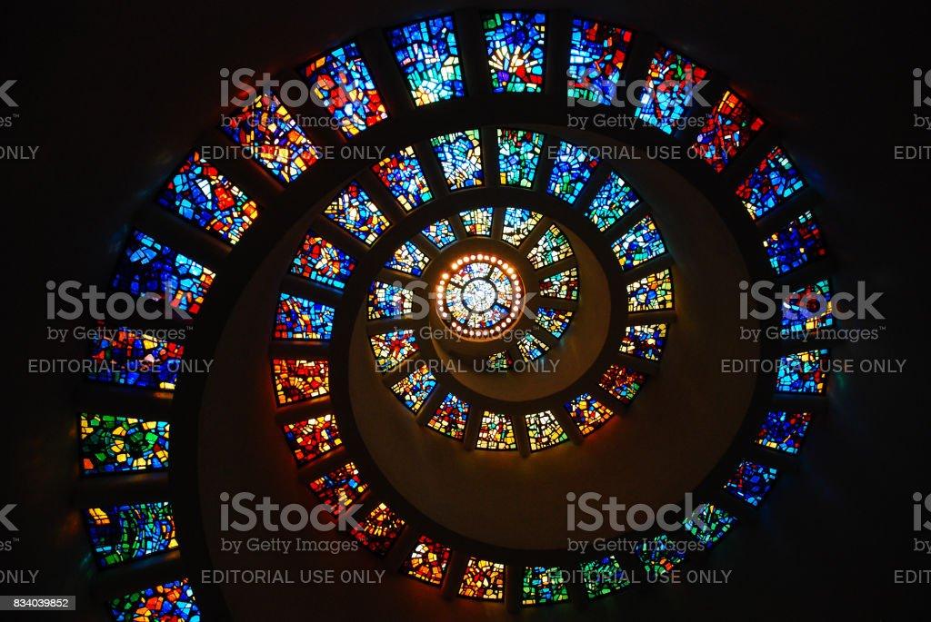 Stained Glass Fibonacci