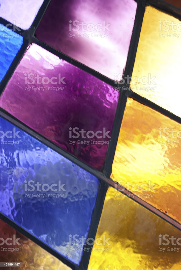 Stained Glass Panels stock photo