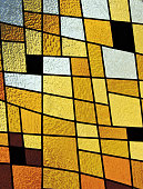 stained glass mosaic