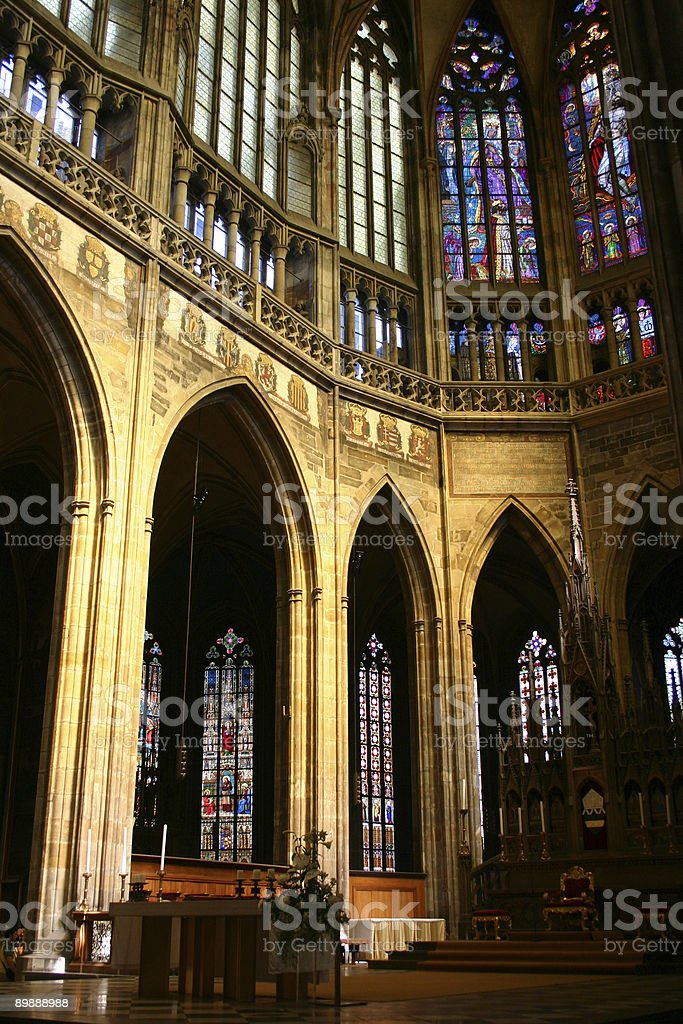 Stained Glass royalty free stockfoto