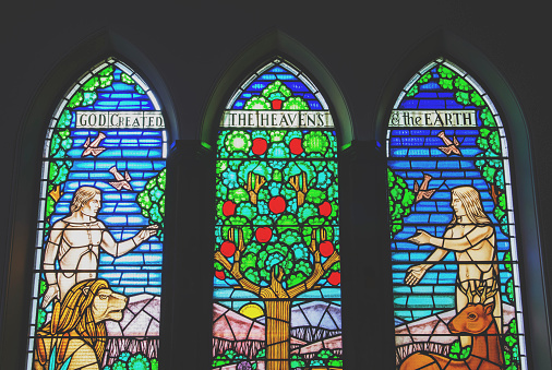 Stained Glass Trio