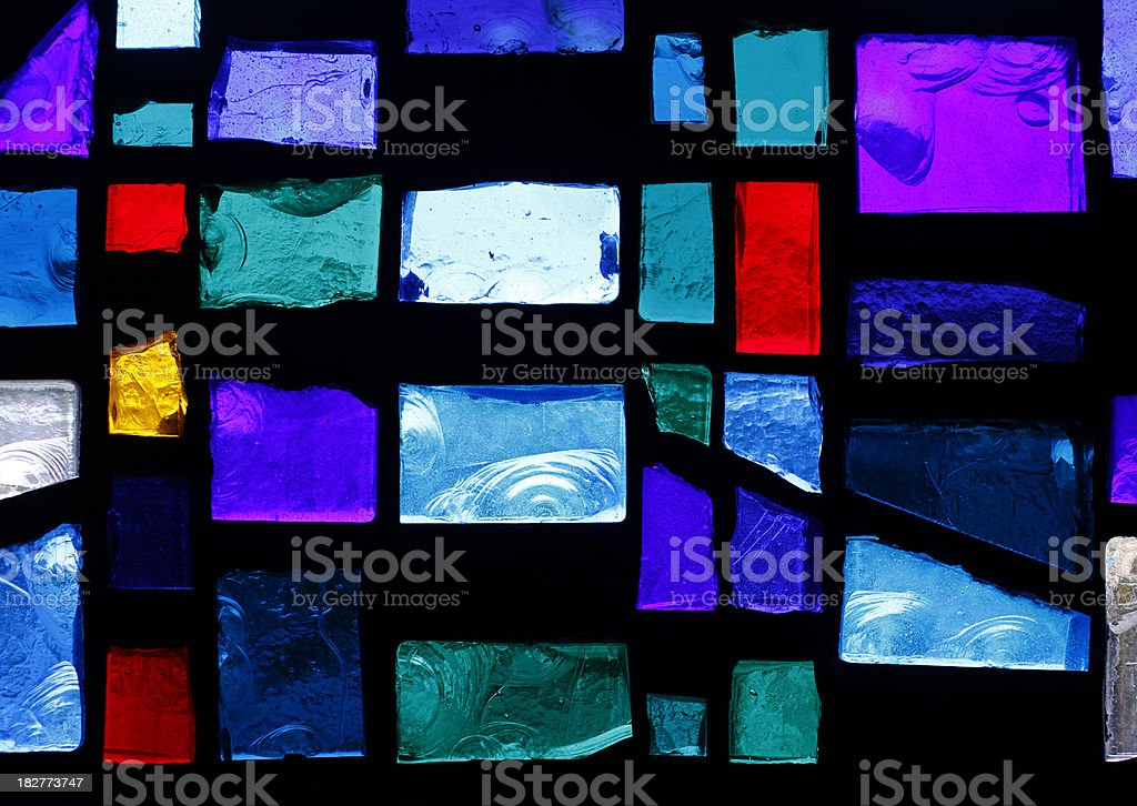 Stained Glass Window stock photo