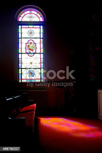 691464522 istock photo Stained Glass Window 498790207
