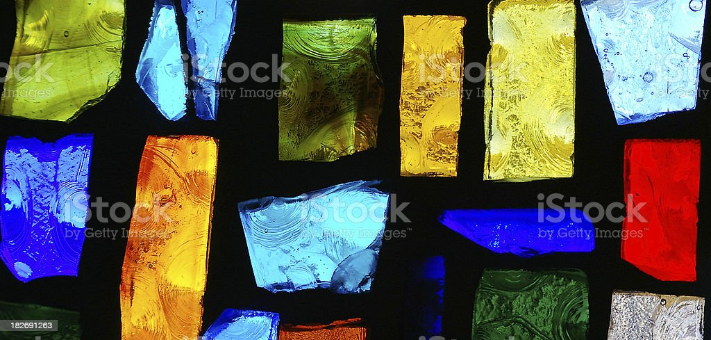 Stained glass2 stock photo