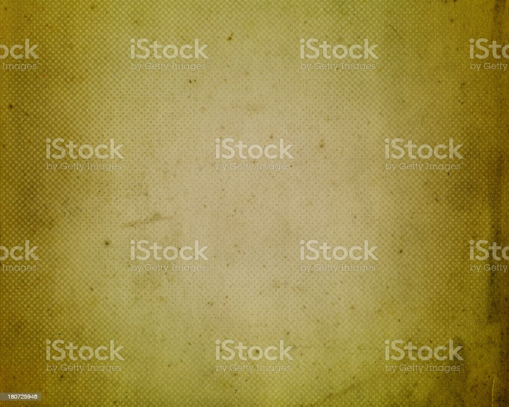 stained green antique paper with halftone royalty-free stock photo