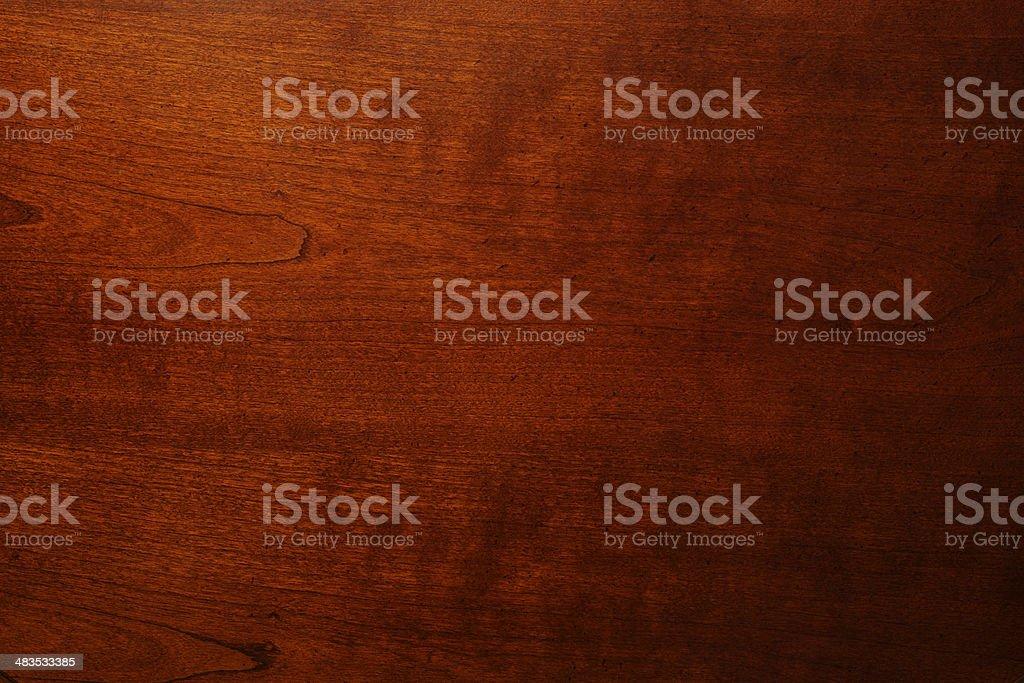 Stained Hardwood royalty-free stock photo