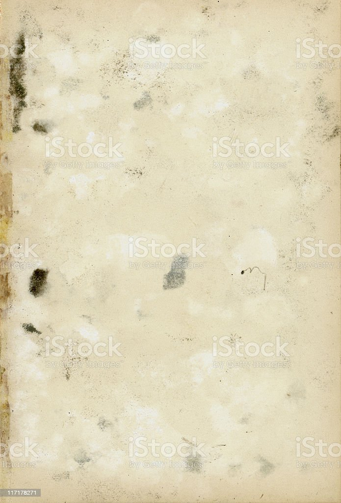 Stained old paper royalty-free stock photo