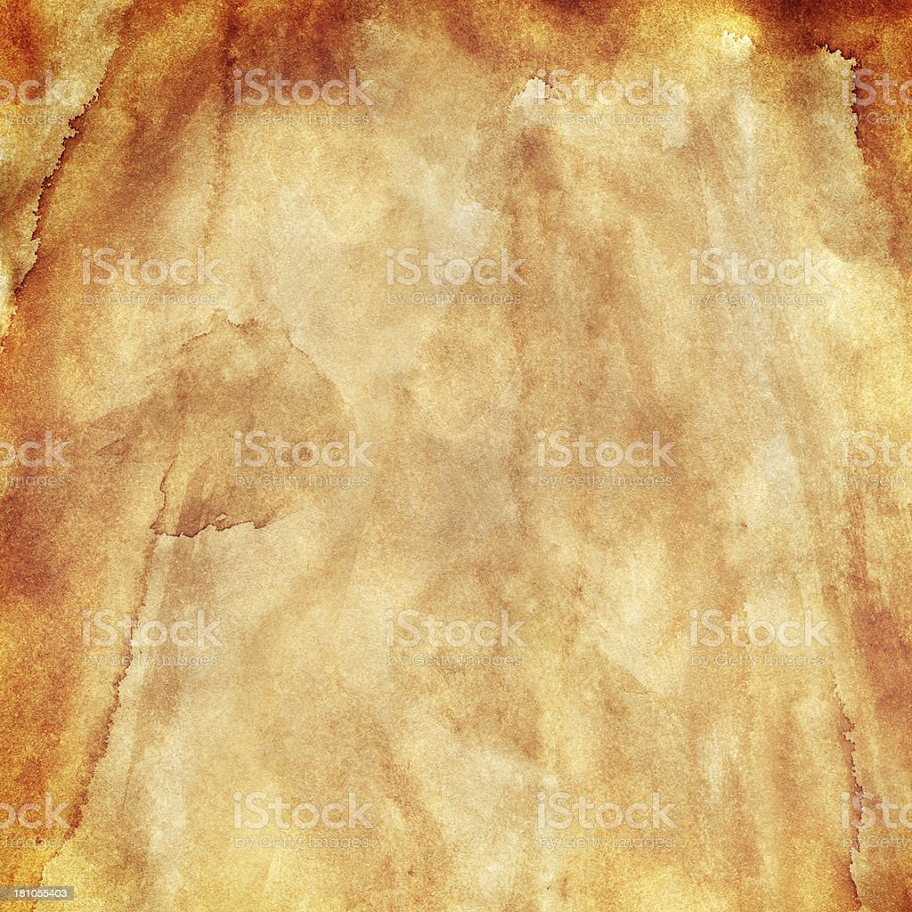 Stained paper background royalty-free stock photo