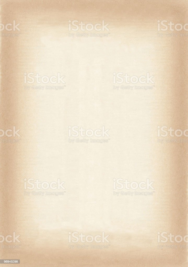 Stained Paper Border royalty-free stock photo