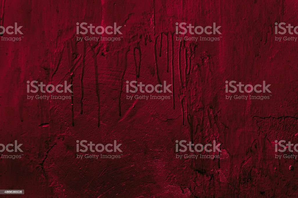 Stained terrible wall. stock photo