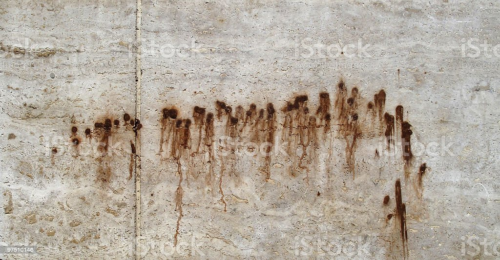 Stained wall royalty-free stock photo