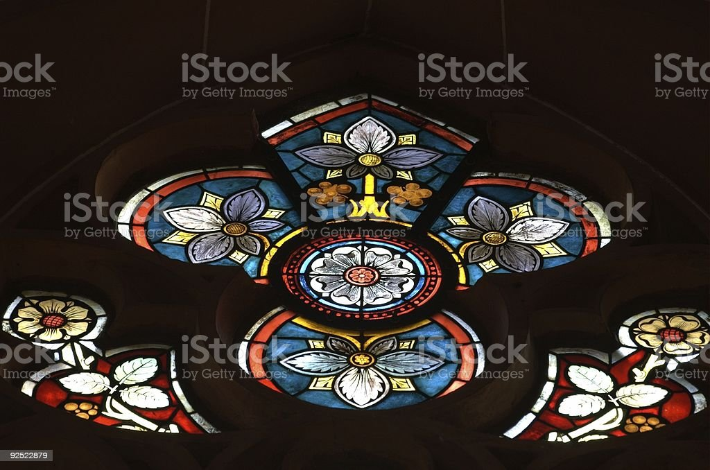 Stained Window royalty-free stock photo