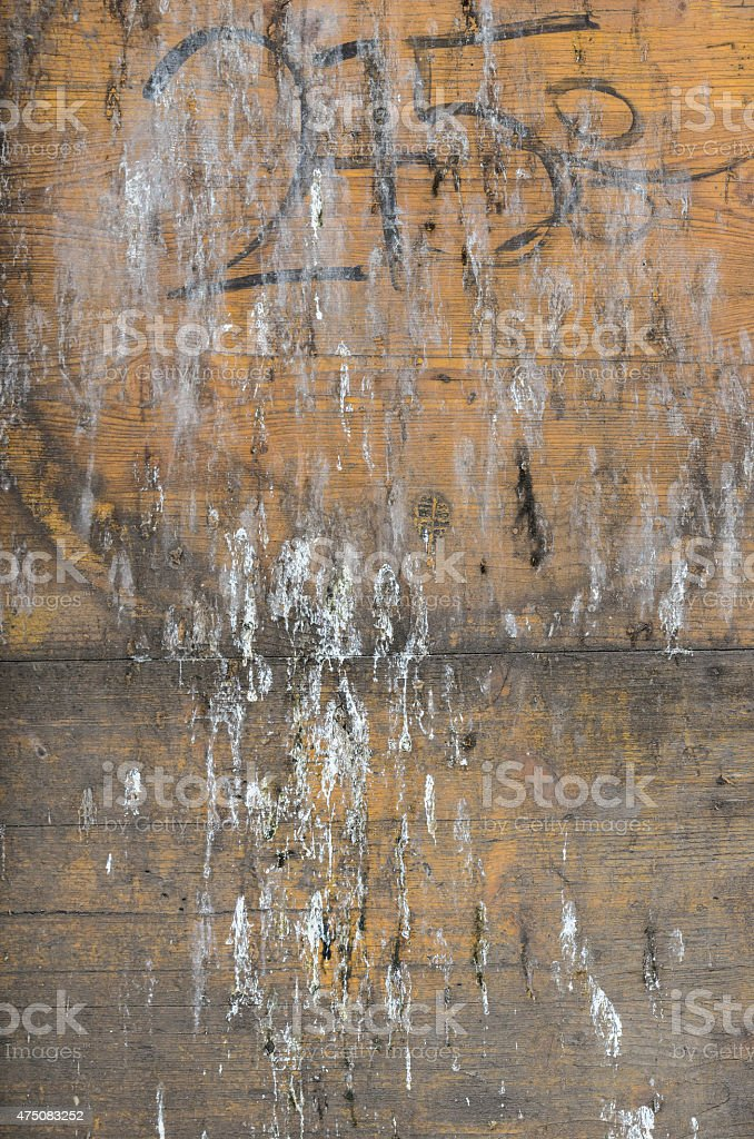 stained wooden panel stock photo