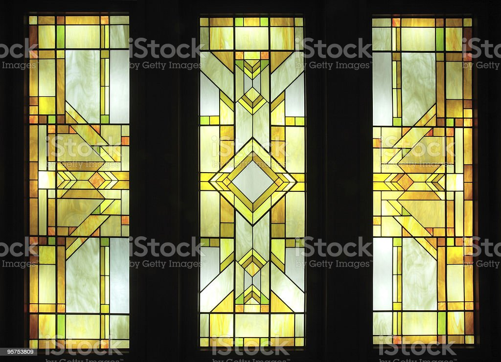 Stained-glass stock photo