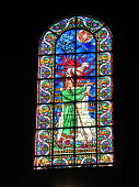 istock Stained-glass window 1054439932