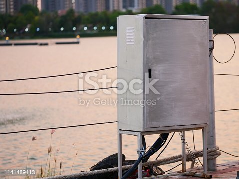 Cable, Crash, Power Line, Traffic Accident, Box - Container, Outdoor