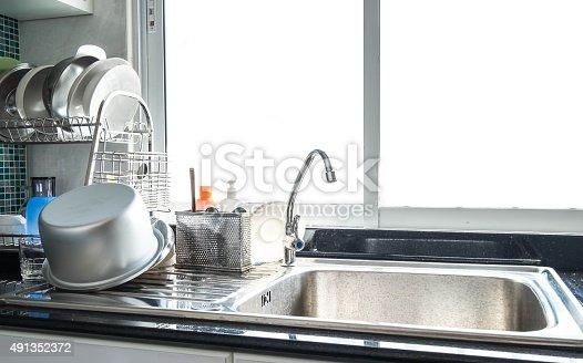 istock stainless kitchenware 491352372