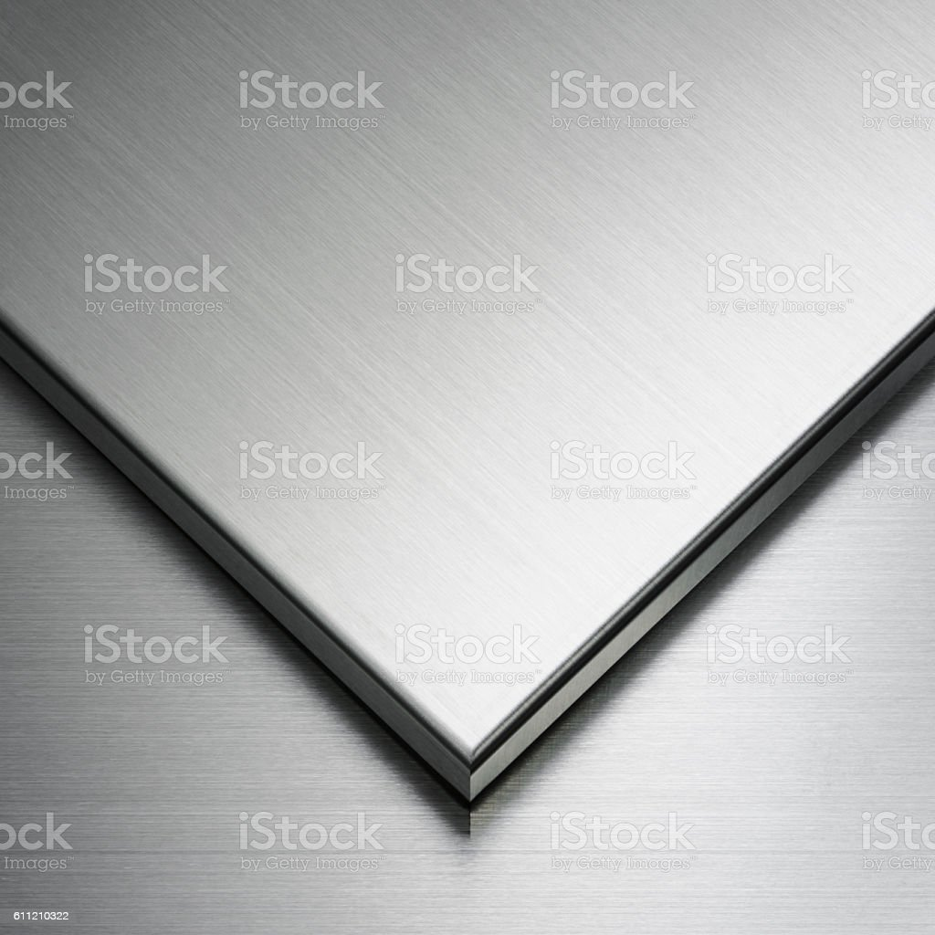 Stainless steel abstract stock photo
