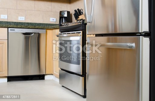 istock Stainless Steel Appliances 478372511