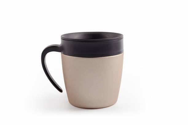 Edelstahlkaffee-Thermokrug – Foto