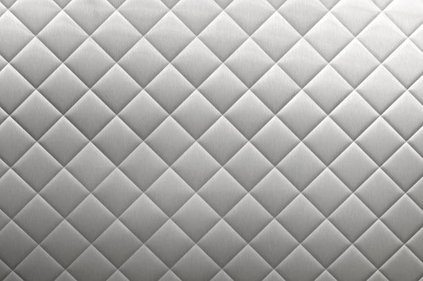 stainless steel diner diamond plate background - diamond plate background stock photos and pictures