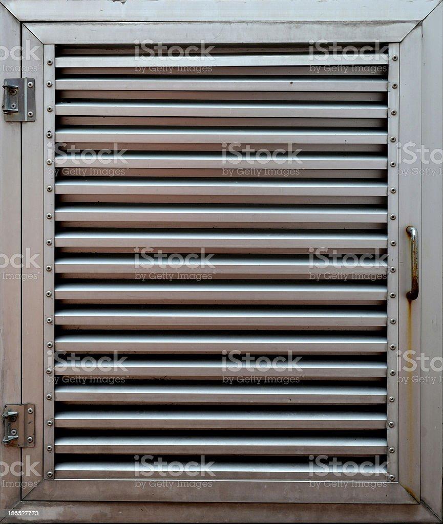 Edelstahltor Hintergrund Stock Fotografie Und Mehr Bilder Von