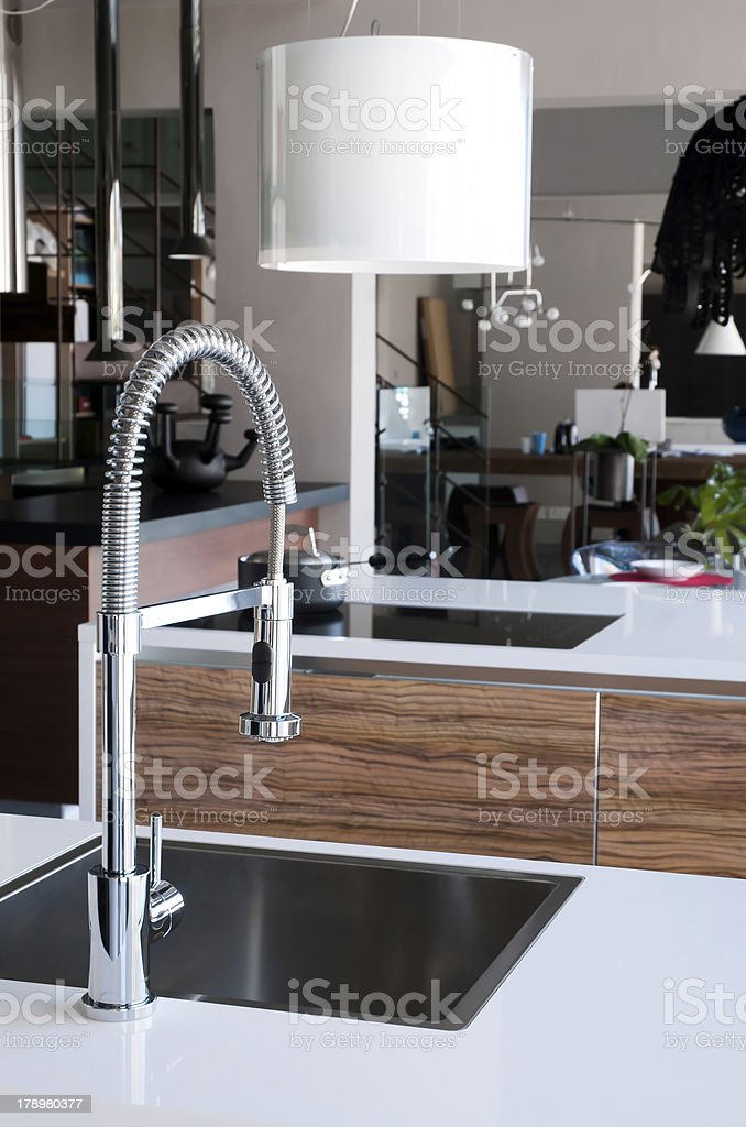 Stainless Steel Kitchen Faucet Stock Photo Download Image Now Istock