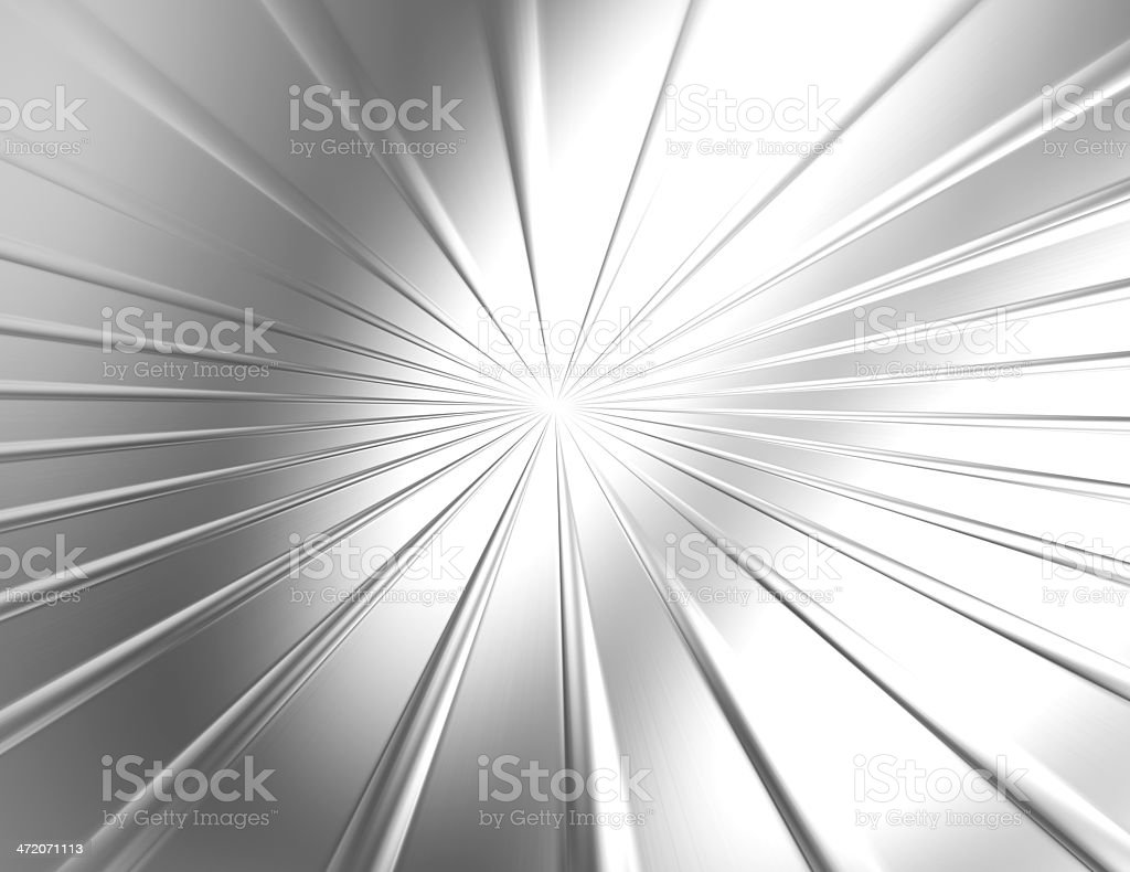Stainless steel starburst texture background stock photo