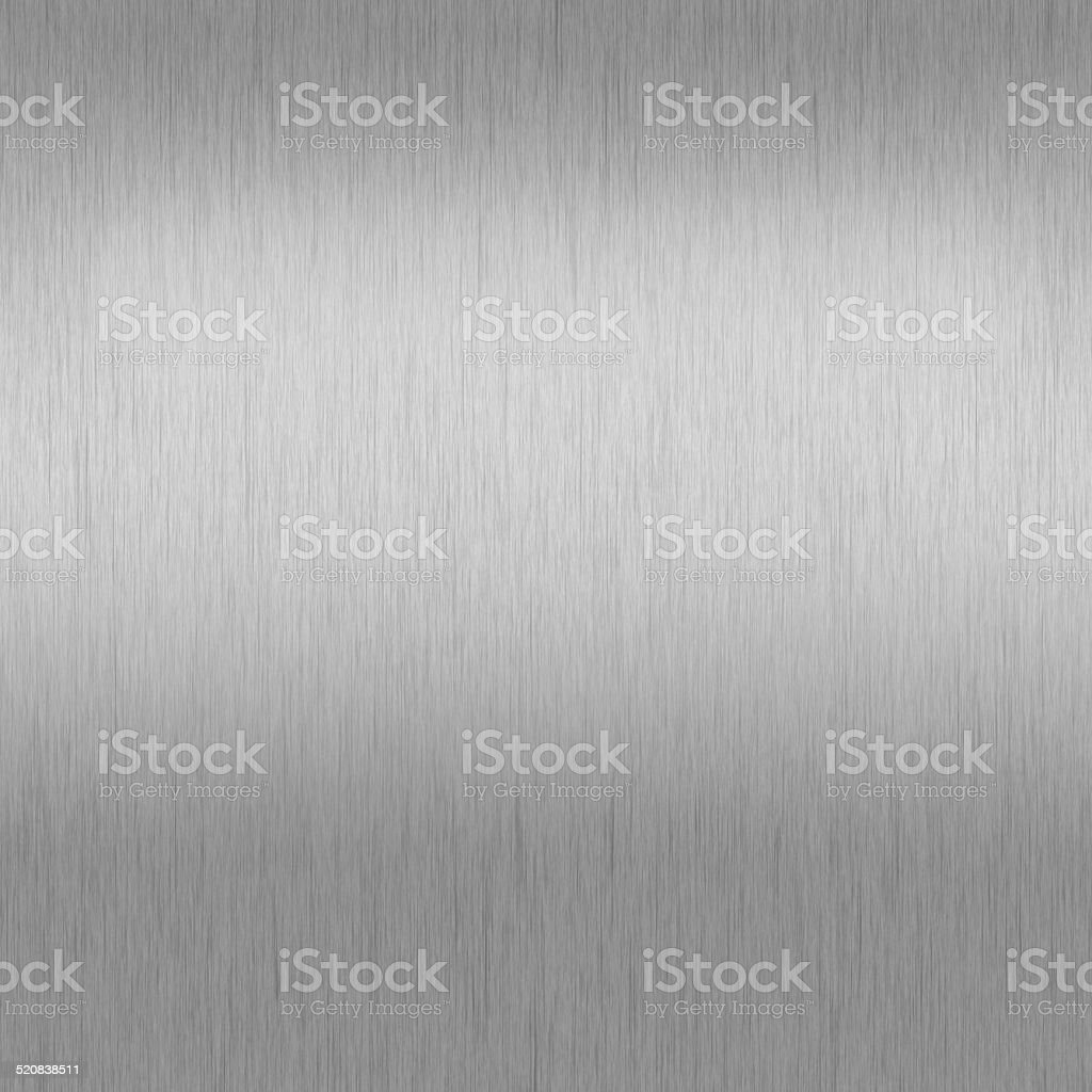 Stainless steel / Steel plate / Silver background chrome texture stock photo