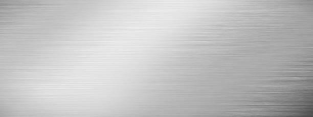 textura de aço inoxidável - cromo metal - fotografias e filmes do acervo