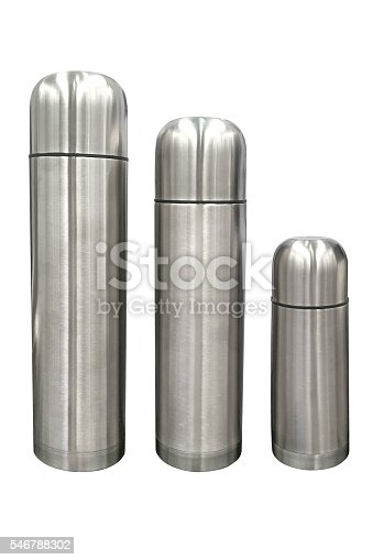 467147506 istock photo stainless steel thermos isolated on white background 546788302