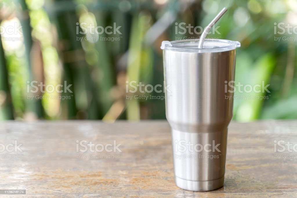 b7ef37f862b Stainless Steel Tumbler With Stainless Straw Keeping Of The Drink ...