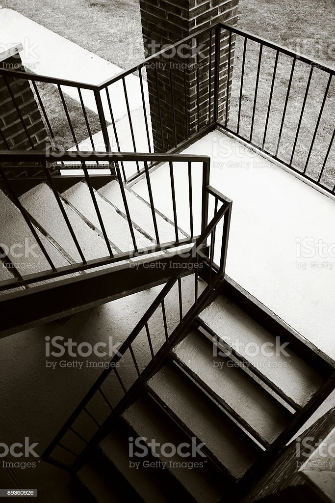 Stair Abstract royalty free stockfoto