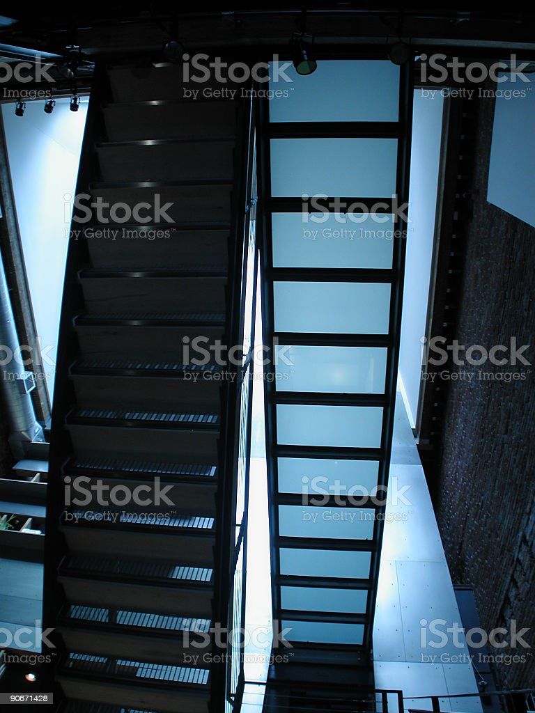 Stair Architecture stock photo