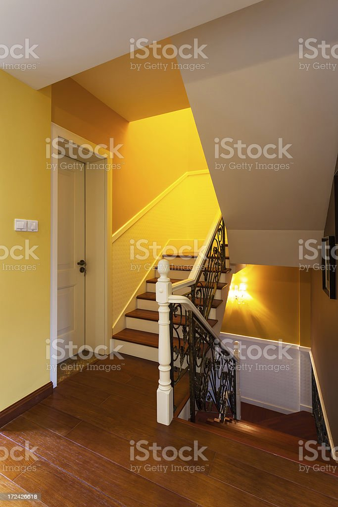 stair at home royalty-free stock photo