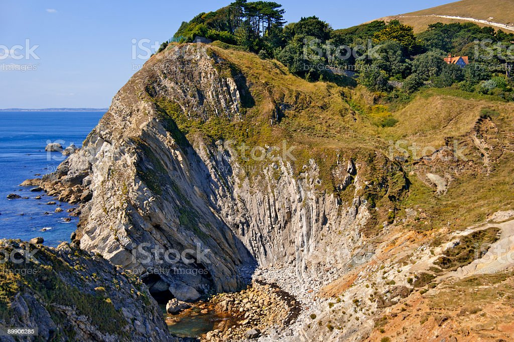 stair hole royalty-free stock photo