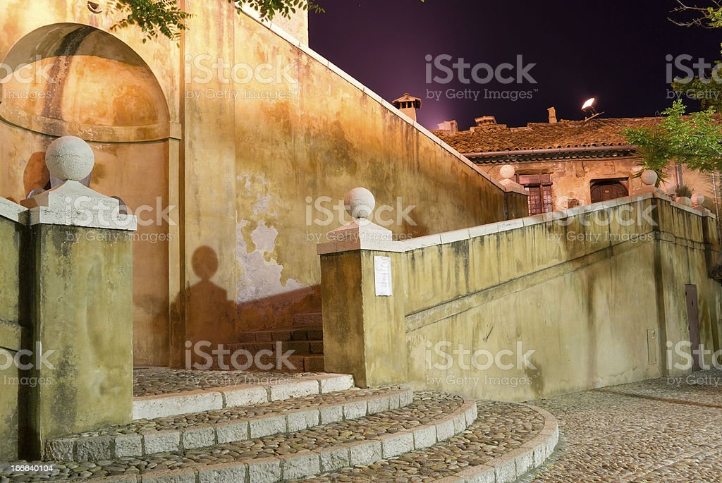 stair in provence stock photo