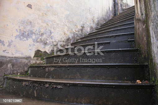 Stair of Hmong Palace in Bac Ha Vietnam