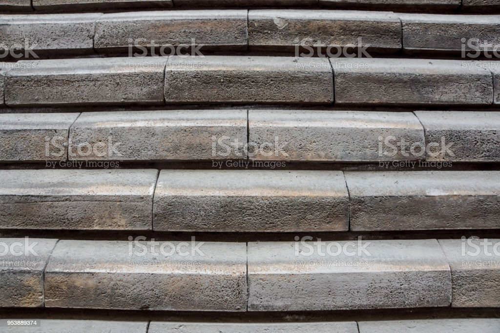 Stair step front view . - foto stock