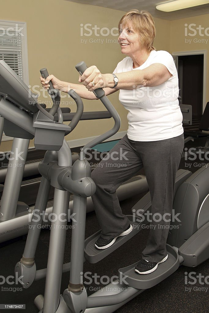 Stair Stepper royalty-free stock photo