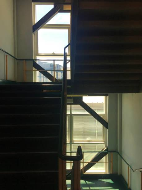 Staircase and light